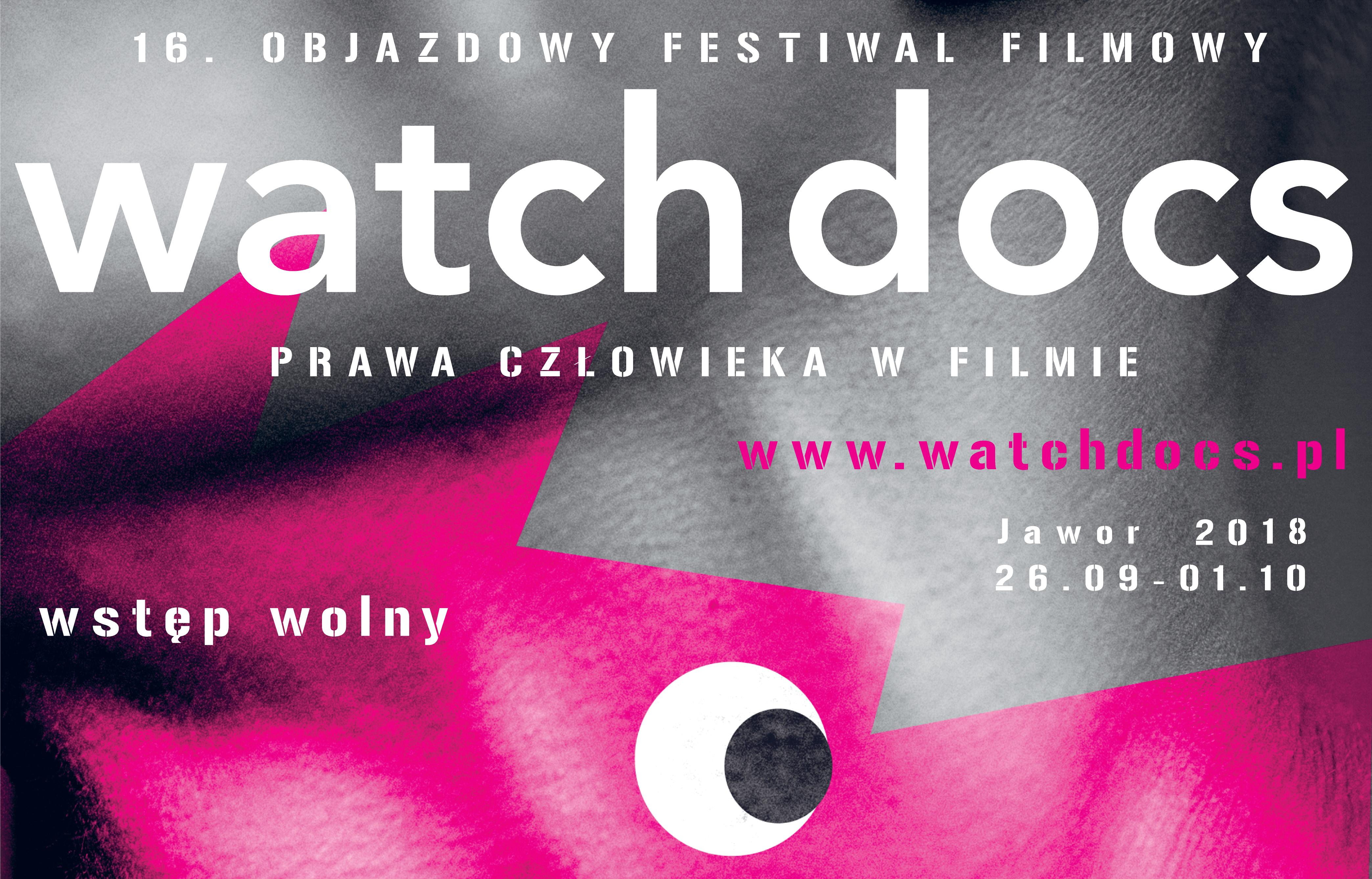 Plan 16. Objazdowego Festiwalu Filmowego WATCH DOCS. Prawa Człowieka w Filmie, Jawor 26.09-01.10.2018