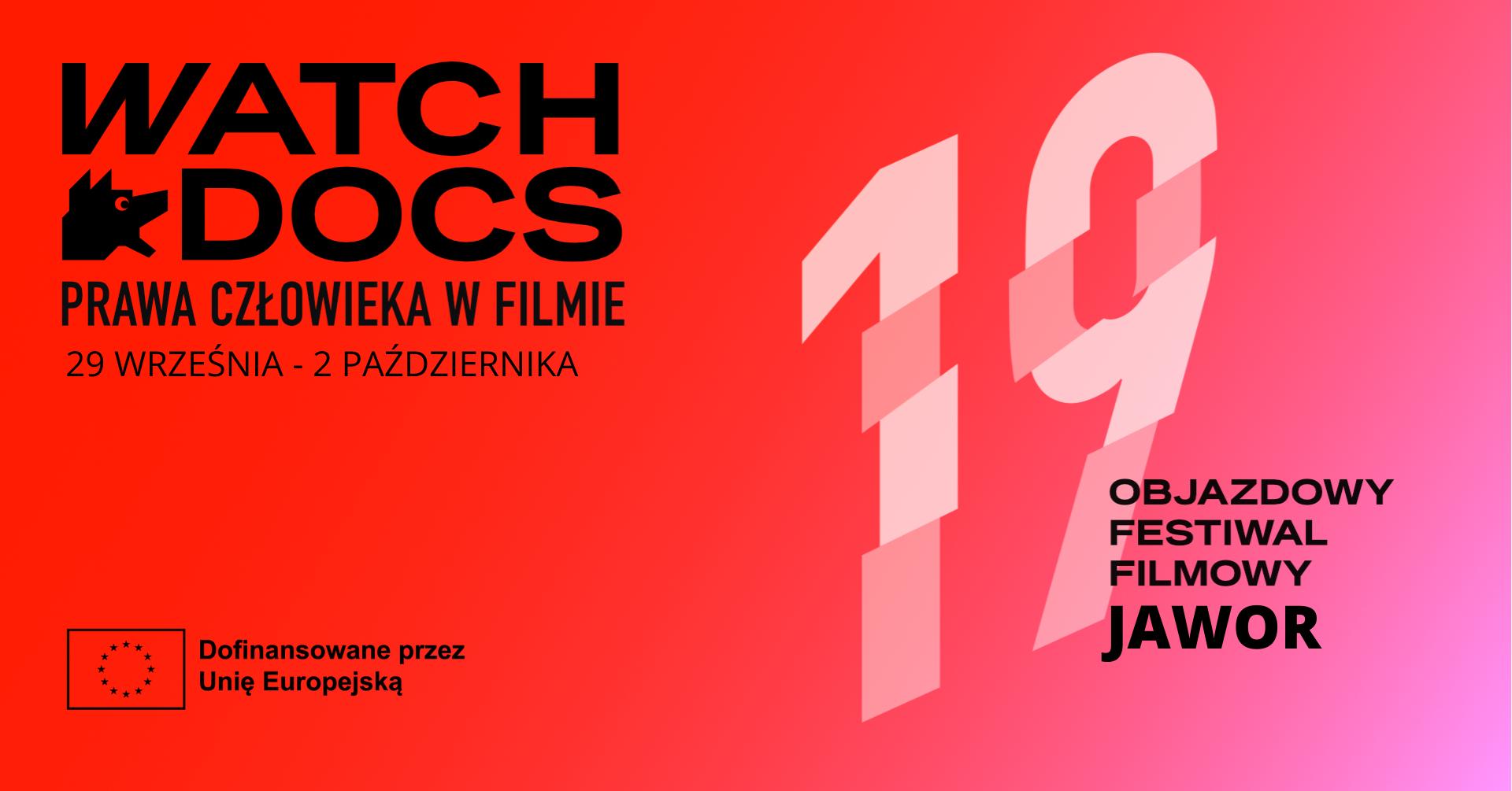 19. Objazdowy festiwal filmowy WATCH DOCS. Prawa człowieka w filmie.